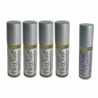 FlexiNail Fingernail Conditioner (4 Vials) Plus <b><u>FREE</b></u> FlexiNail Cuticle Conditioner